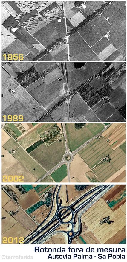 Rotonda poblera, 1956-2012